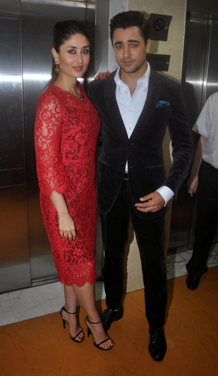Kareena And Imran Strikes A Cool Pose For Their Film GTPM Promotion