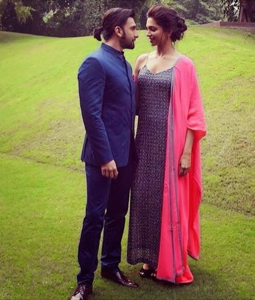 Deepika And Ranveer Close Photo Shoot During The Promotion Of Ram Leela In Delhi