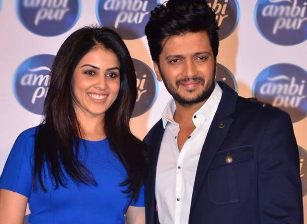 Bollywood's Sweet Jodi Genelia And Riteish Unveiled Ambi Pur's Refresh Your Love
