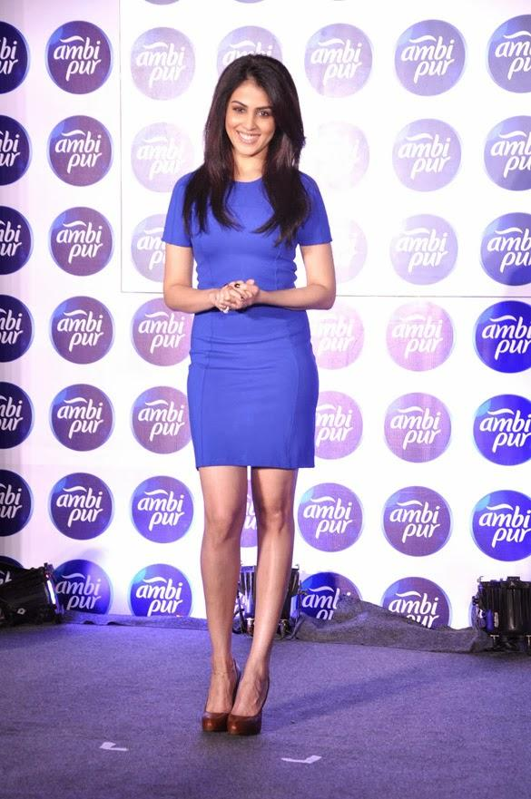 Genelia D'Souza Cool Pic At Ambi Pur's Refresh Your Love Campaign Event