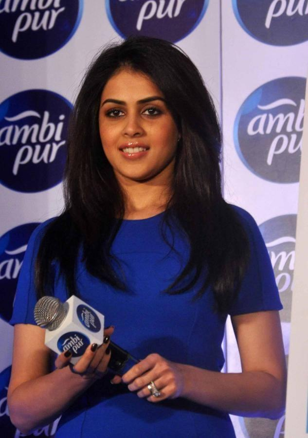 Stunning Genelia Attend Ambi Pur's Refresh Your Love Campaign Launch Event