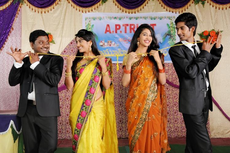 AK Rao PK Rao Tollywood Movie Dhanraj,Ramesh,Sri Bhoomika And Karina Latest Still