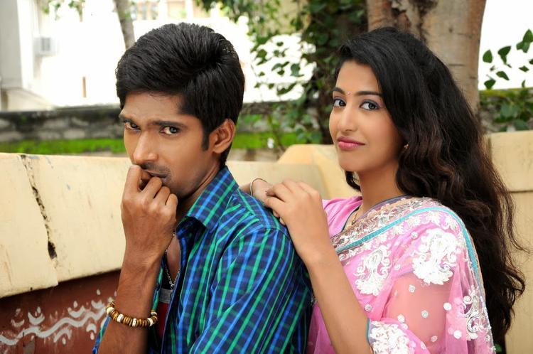 Dhanraj Cute Face Pose Pic In AK Rao PK Rao Tollywood Movie