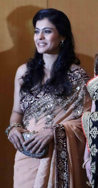 Gorgeous Kajol Looking Elegant At Launch Of British Asian Trust Advisory Council In Mumbai