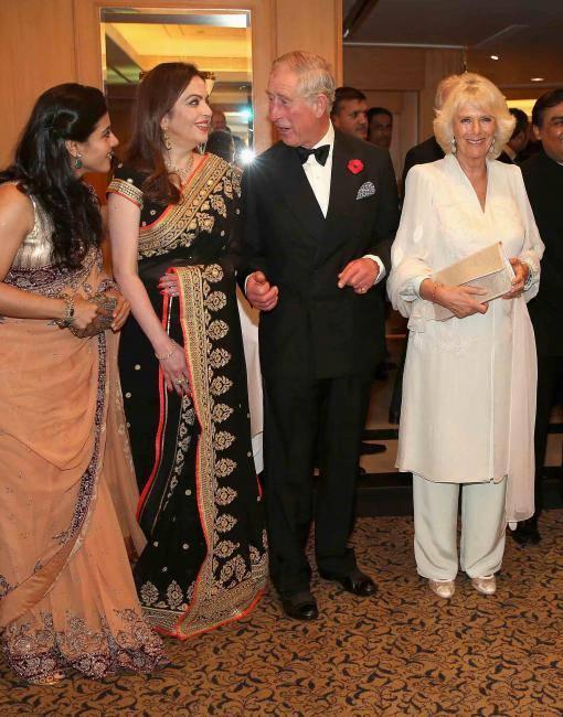 Kajol,Nita,Prince Charles And Camilla At Launch Of British Asian Trust Advisory Council In Mumbai