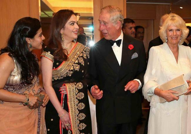Prince Charles And Wife Camilla Were In India To Launch The British Asian Trust Advisory Council In Mumbai