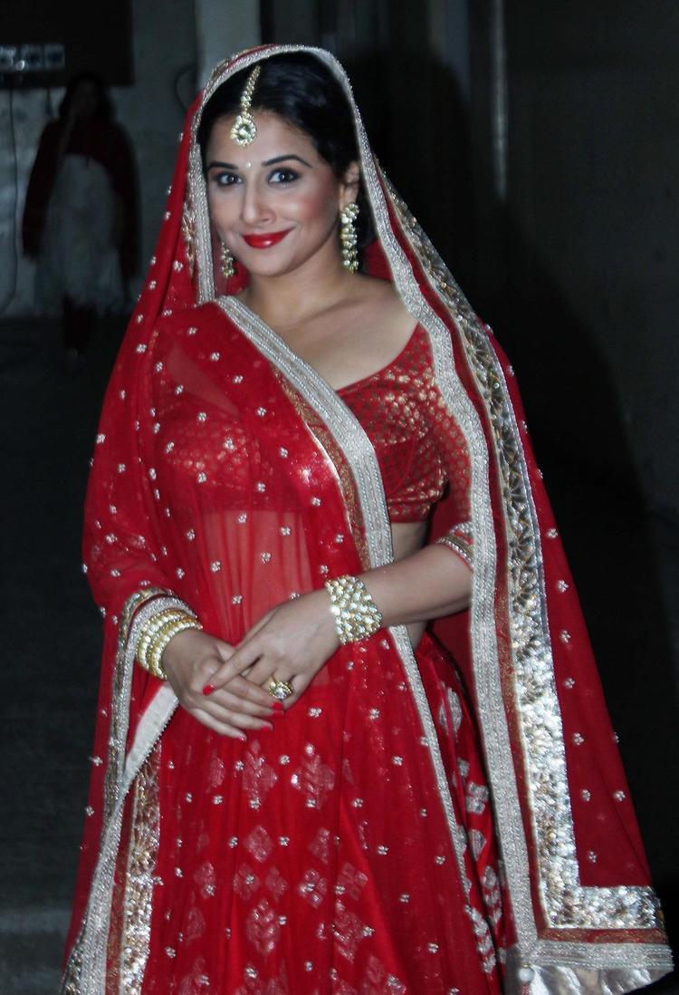 Cute Vidya Balan Ravishing Attractive Look For Ranka Jewellers Ad Shoots