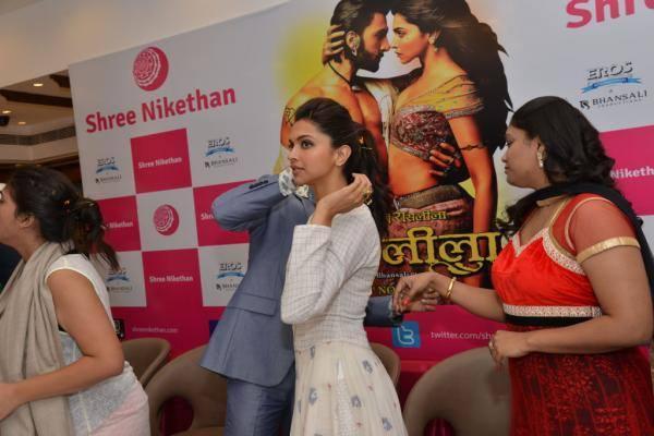 Ranveer And Deepika Visits Hyderabad For Promoting Their Film Ram Leela