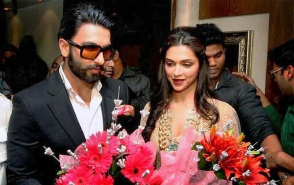 Ranveer And Deepika Gorgeous Look At Kolkata For Promoting Ram-Leela
