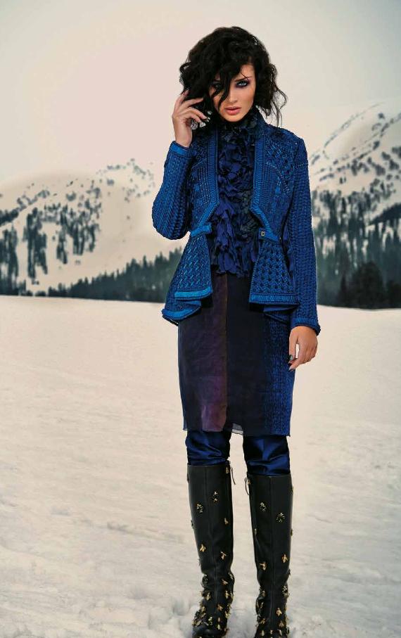 Amy Jackson On The Cover Of Verve Magazine November 2013