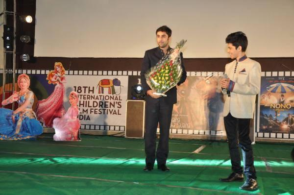 Ranbir And Darsheel Graced On the Stage At The Opening Ceremony Of 18th ICFFI