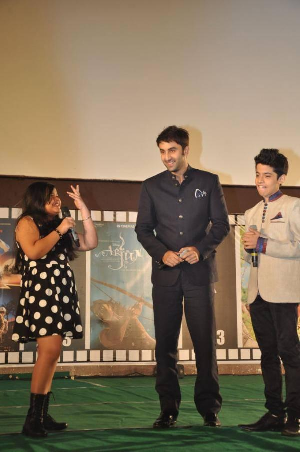 Saloni,Ranbir And Darsheel Hosted The Opening Ceremony Of 18th International Children's Film Festival Of India