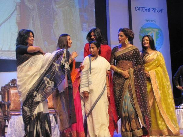 Rani,Bipasha,Mamata,Moushumi And Sushmita Attend  The Kolkata International Film Festival