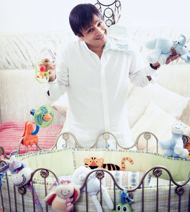 Vivek Oberoi Smiling Nice Look Photo Shoot For Filmfare November 2013 Issue