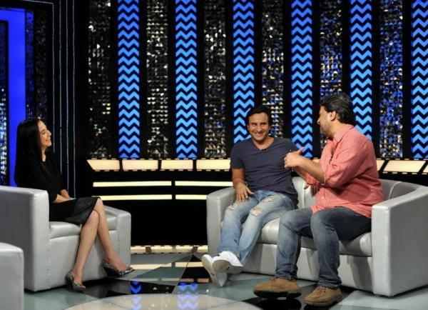 Saif And Tigmanshu On The Front Row Show With Anupama Chopra