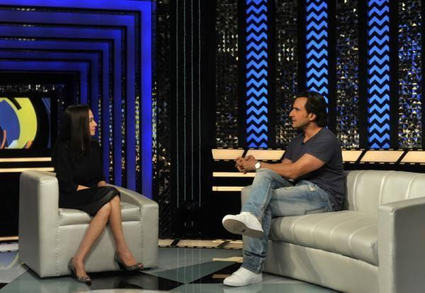 Saif Discussed With Anupama On The Front Row Show