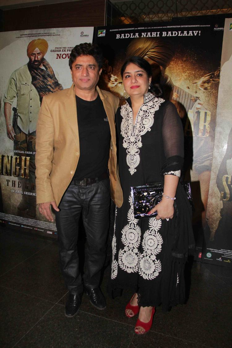 Anand Raj Anand Graced At The Special Screening Of Singh Saab The Great