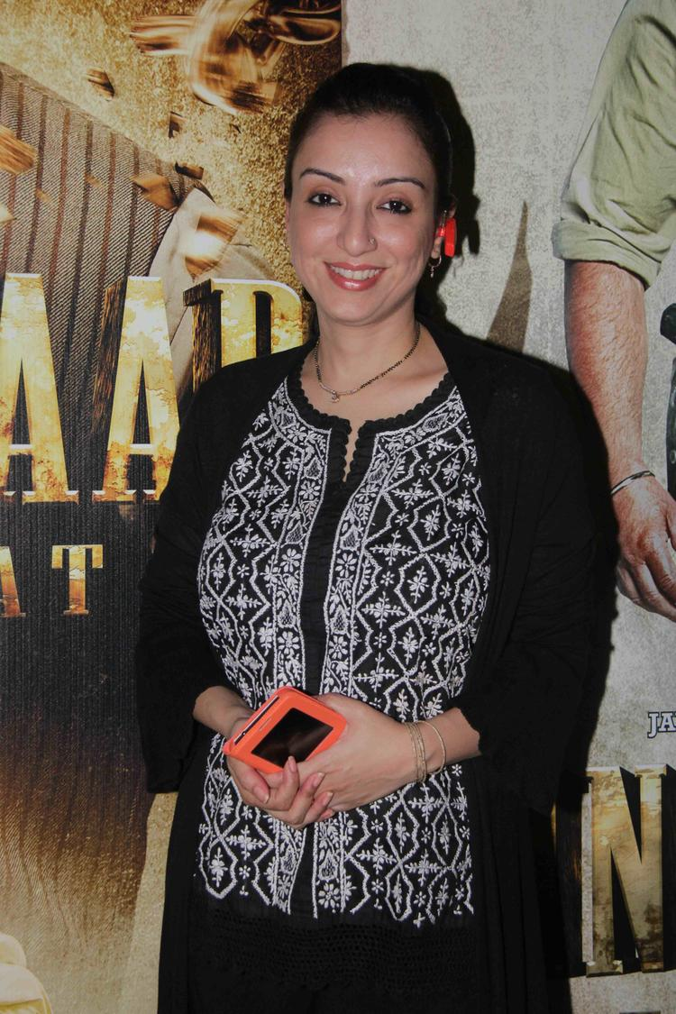 Madhurima Nigam Smiling Look At The Special Screening Of Singh Saab The Grea