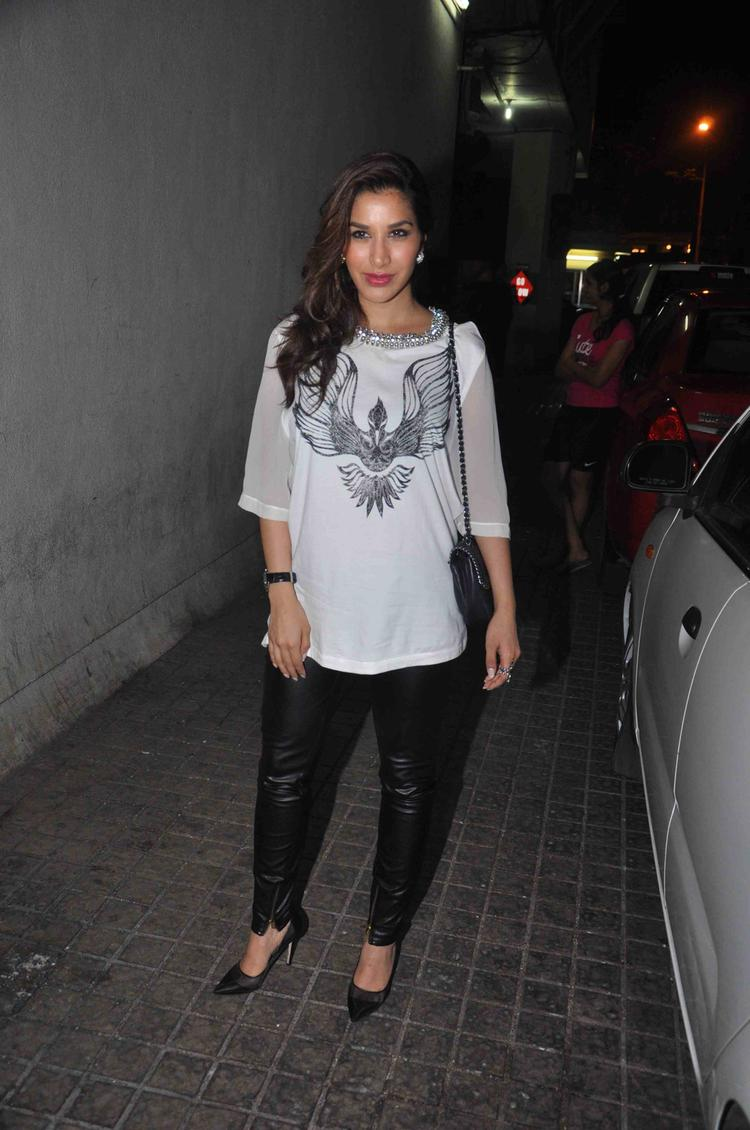 Gori Tere Pyaar Mein Movie Special Screening Suburban Theatre Sophie Choudry Pic