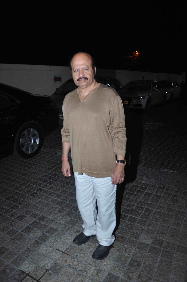 Rajesh Roshan Spottd At Gori Tere Pyaar Mein Movie Special Screening