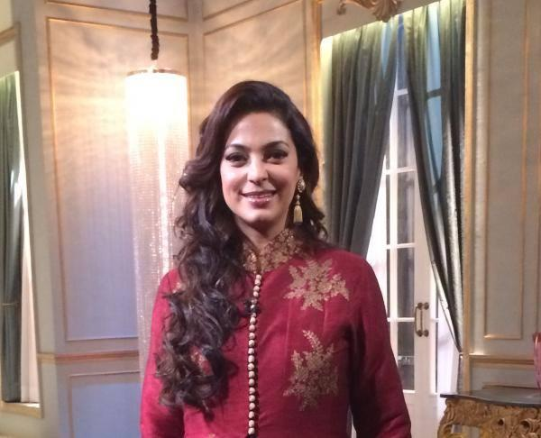 Evergreen Beauty Juhi Chawla Shoot For Koffee With Karan