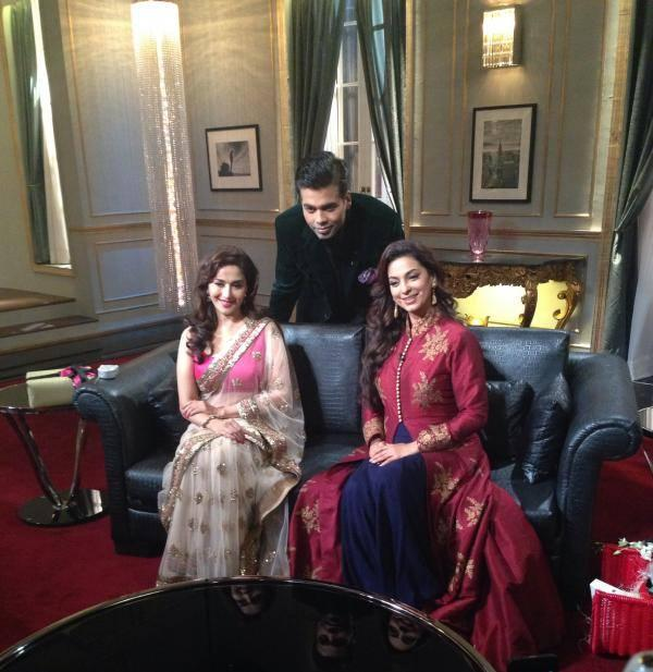Madhuri Dixit And Juhi Chawla To Appear Together On Koffee With Karanseason 4