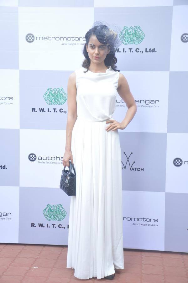 Bollywood Beauty Kangana Ranaut At Mehta Million Event
