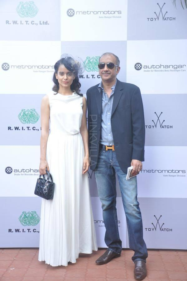 Milan Luthria And Kangana At The Sir H.M. Mehta Million Event