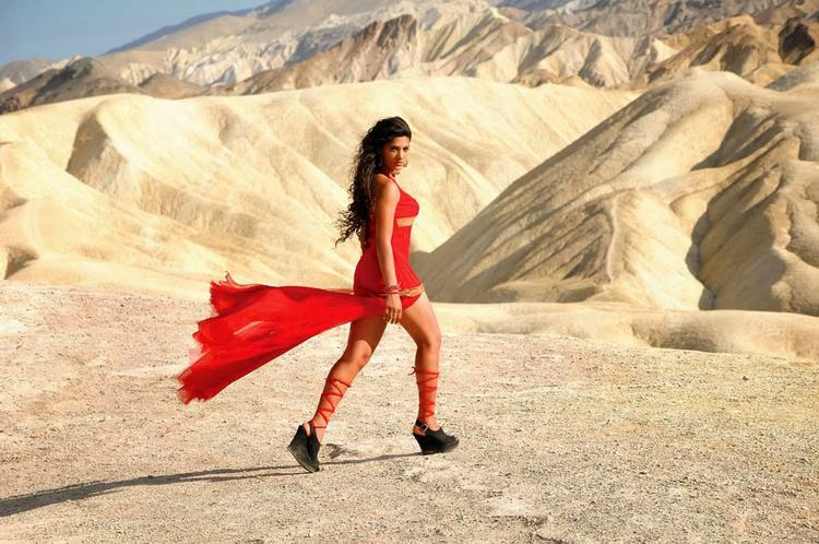 Lead Actress Saiyami Kher Exclusive Pic From The New Telugu Flick Rey