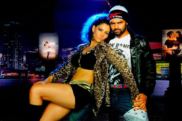 Sai Dharam Tej And Saiyami Exclusive Hot Pic In New Movie Rey