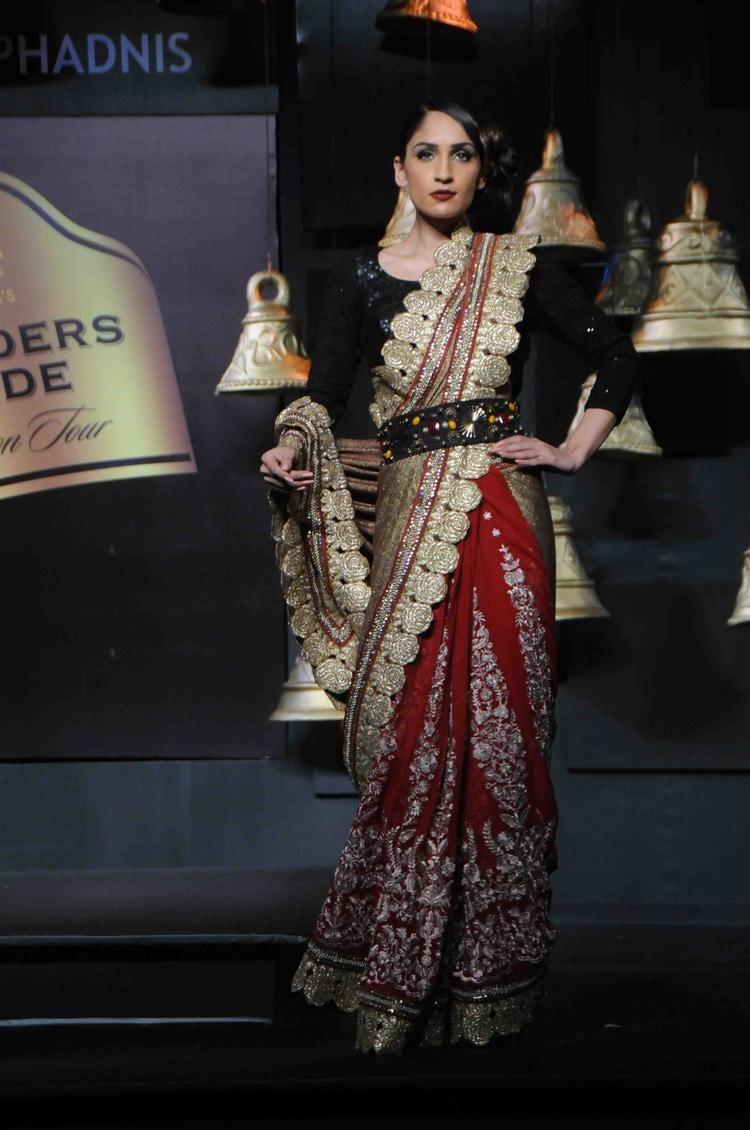 Model Walks For Vikram Phadnis At BPFT In Mumbai Day 2 Event