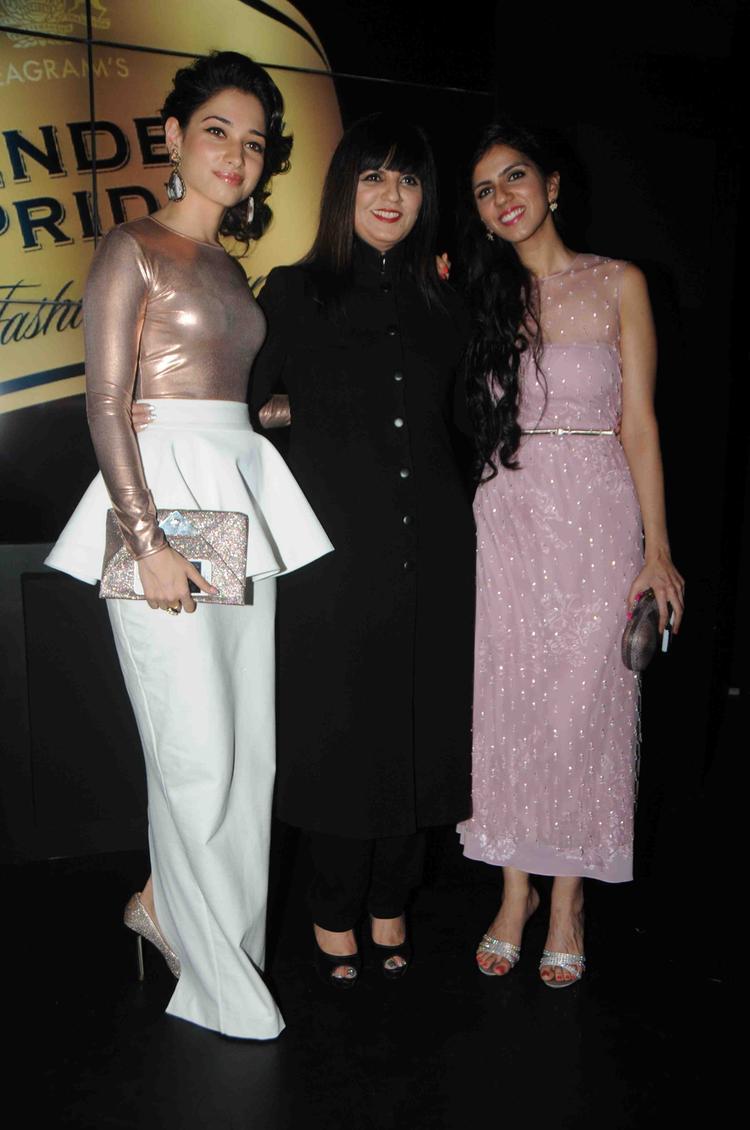 Tamanna,Neeta And Nishka At Blenders Pride Fashion Tour Mumbai  Day 2 Event