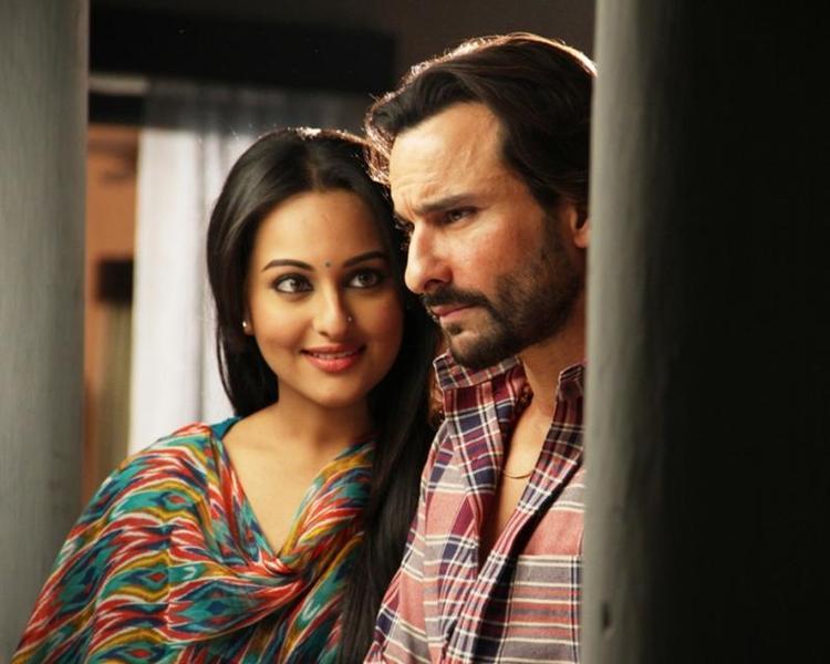 Bullet Raja Movie Romantic Song Saif And Sonakshi Still