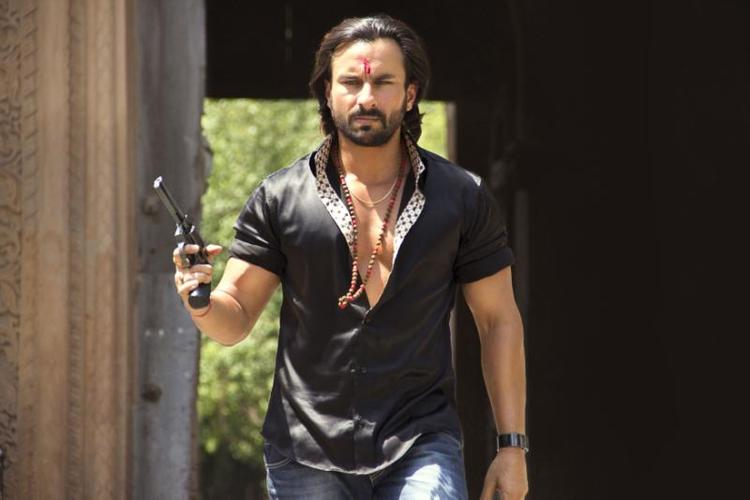 Saif Ali Khan In Different Avtaar In Bullet Raja Movie