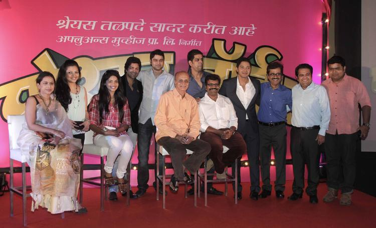 Celebs Graced During The Launch Of Shreyas Talpade's Second Home Production