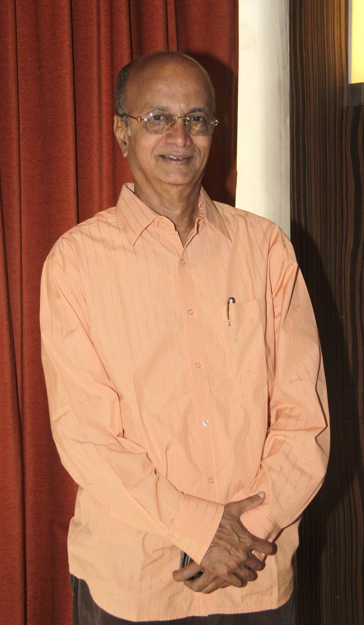 Dilip Prabhavalkar Smiling Look At Launch Of Shreyas Talpade's Second Home Production