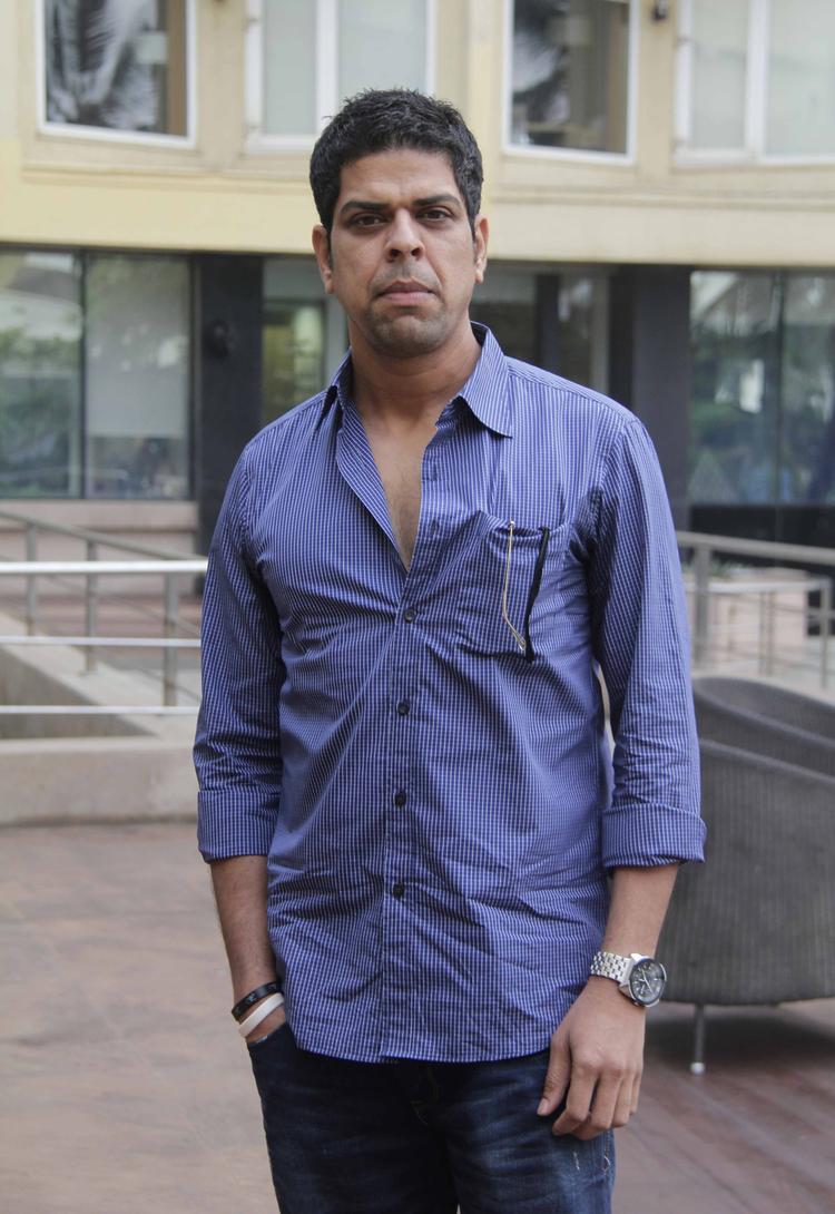 Murli Sharma Nice Pose At The Launch Of Shreyas Talpade's Second Home Production