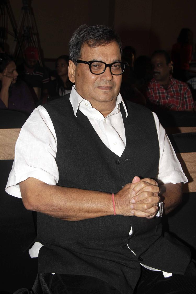 Subhash Ghai Present During The Launch Of Shreyas Talpade's Second Home Production