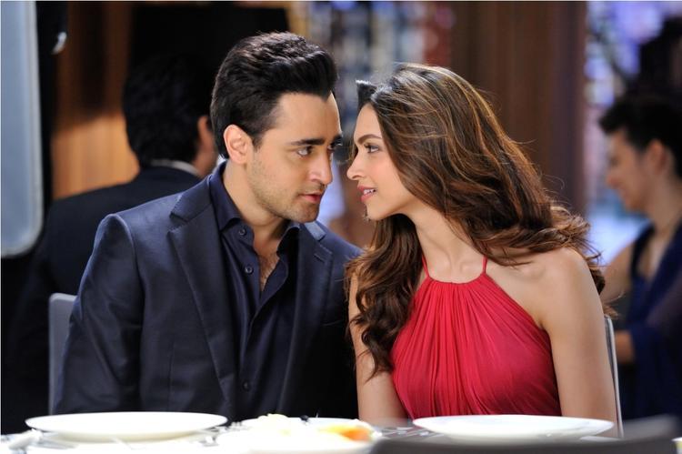 Deepika And Imran New LUX Ad Romance Still