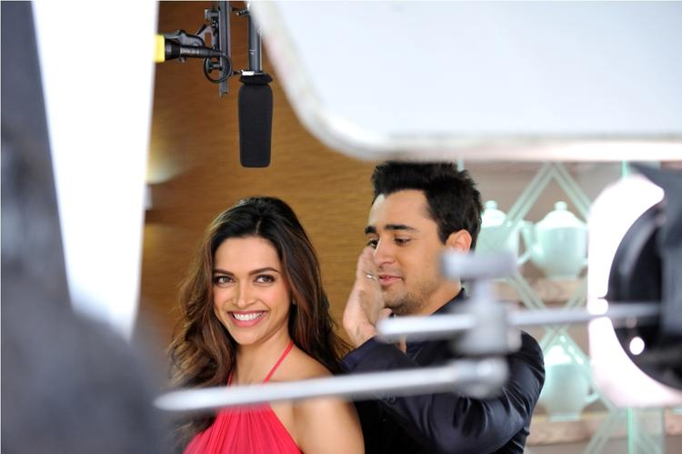 New LUX Brand Ambassadors Deepika And Imran Sweet Photo Shoot