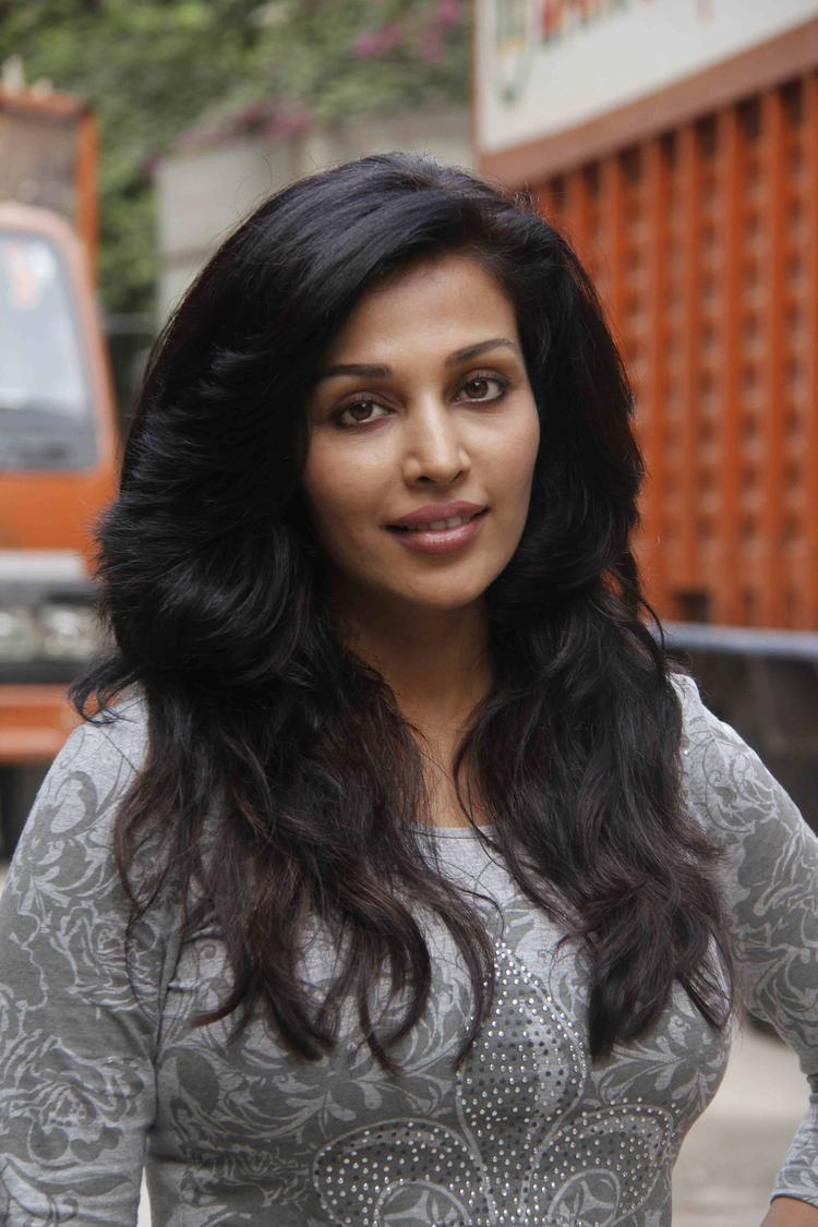 Actress Flora Saini At The Music Video Shoot Of Film Lakshmi