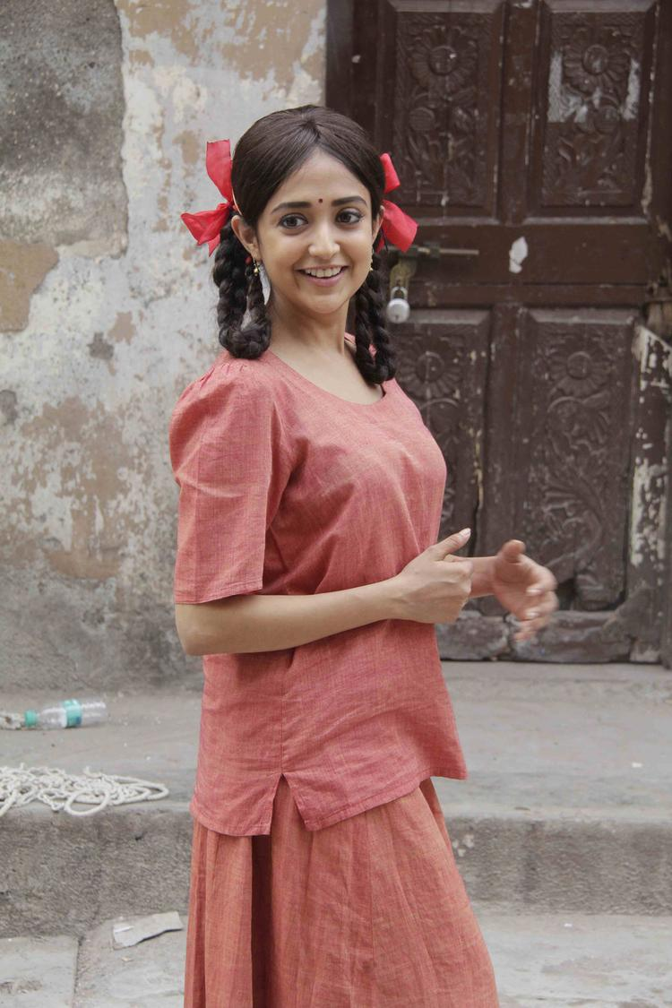 Cute Singer And Actress Monali Thakur Sizzles At Lakshmi Movie Music Video Shoot