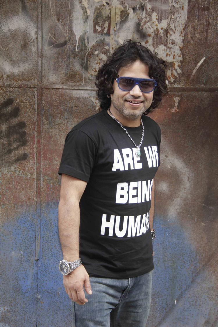 Kailash Kher Snapped For Lakshmi Movie Music Video Shoot
