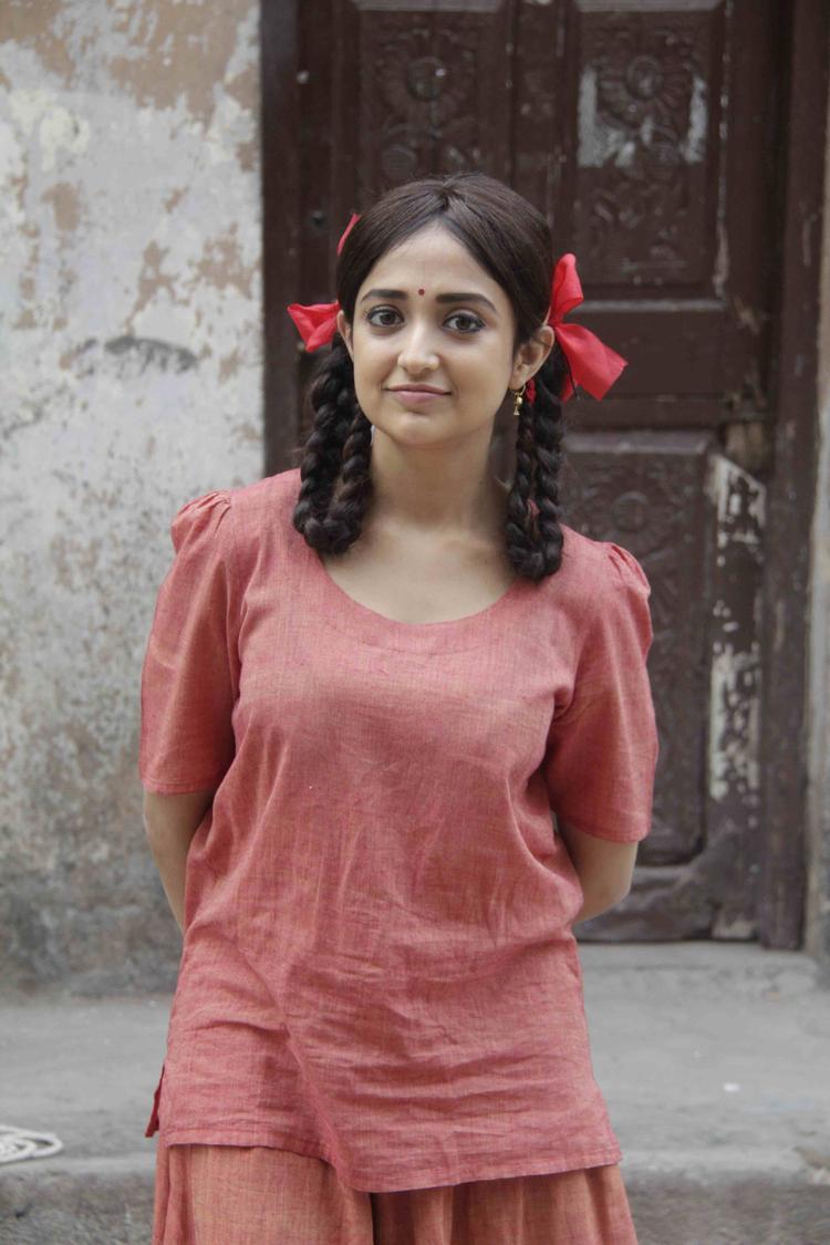 Monali Thakur Cute Pose Photo Shoot During The Music Video Shoot Of Film Lakshmi