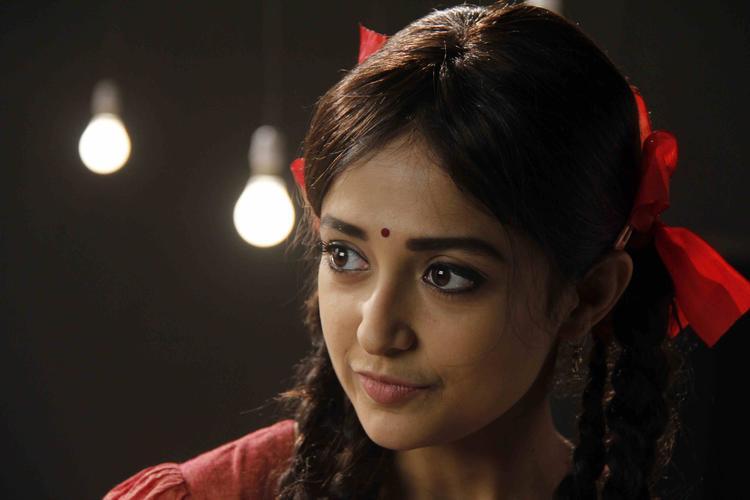 Monali Thakur During The Lakshmi Movie Music Video Shoot