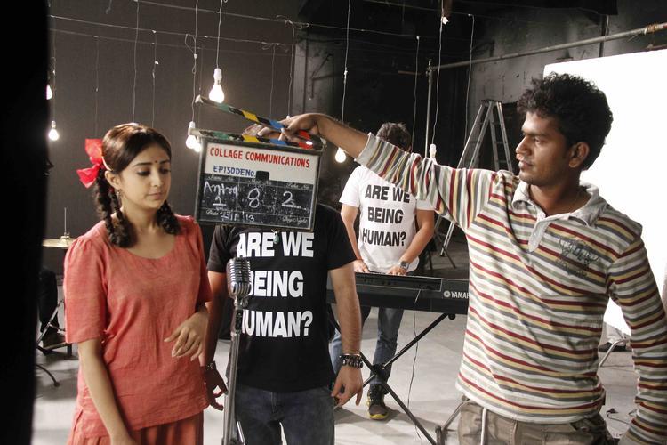 Monali Thakur At Lakshmi Movie Music Video Shoot