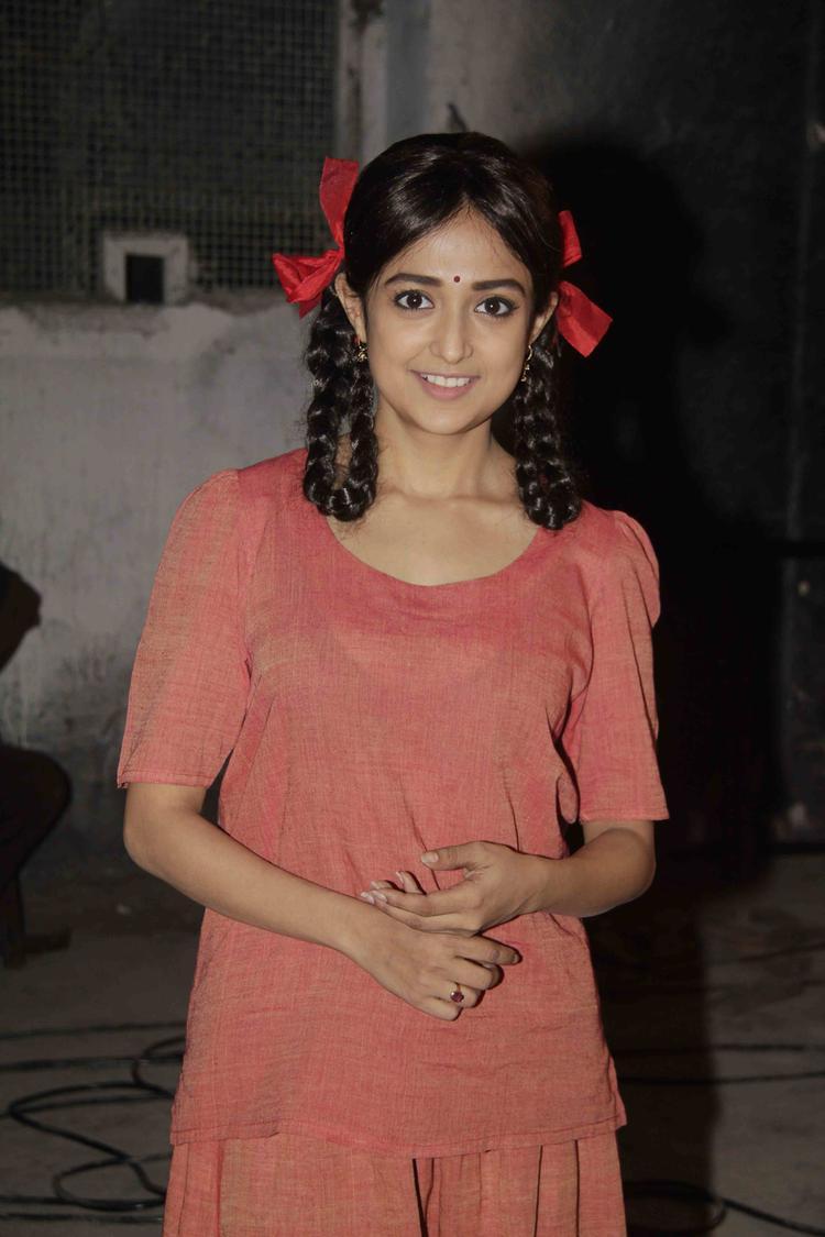 Monali Thakur Nice Look During Lakshmi Movie Music Video Shoot