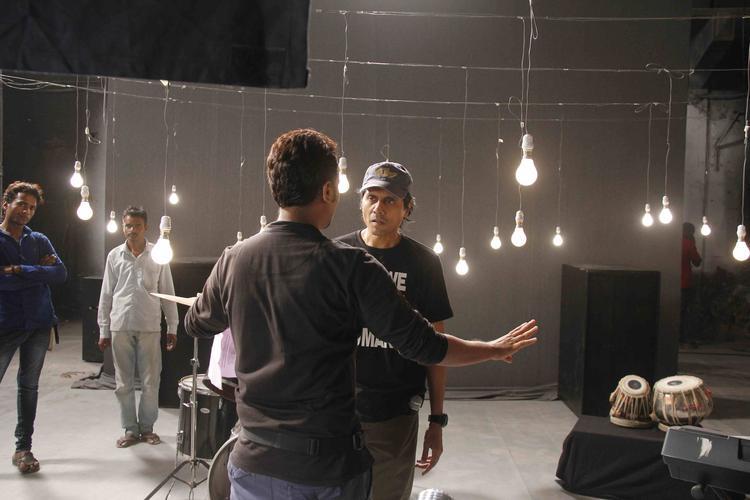 Nagesh Kukunoor At Lakshmi Movie Music Video Shoot