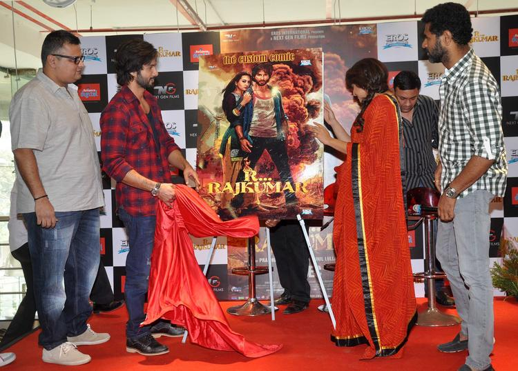 R Rajkumar Movie Promotion Still