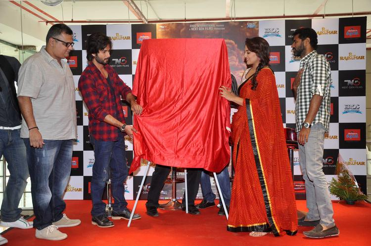 R Rajkumar Team Spotted To Launch R Rajkumar Comic Poster
